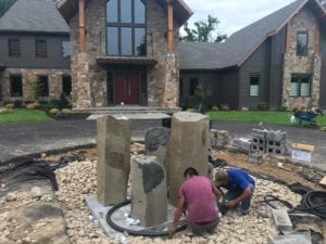 Professional Fountain Installation