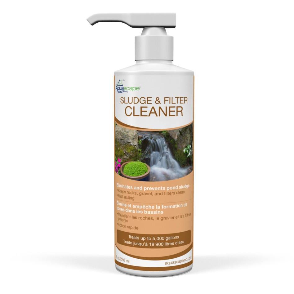 pond sludge and filter cleaner