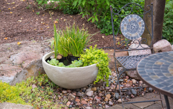 Water features for small spaces